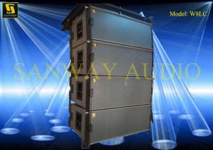 High Performance Three-Way Line Array (W8LC) pictures & photos
