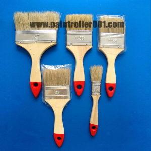 "1-4""Bristle Wooden or Plastic Handle Paint Brush pictures & photos"