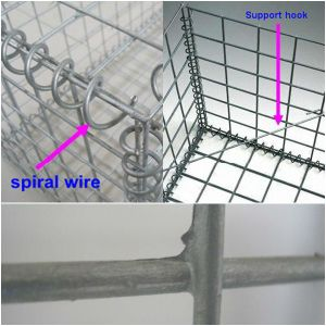 Welded Wire Mesh Gabion Box Professional Manufacture pictures & photos
