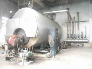 Automatic Fire Tube Industrial Diesel Oil Natural Gas Fired Steam Boiler pictures & photos