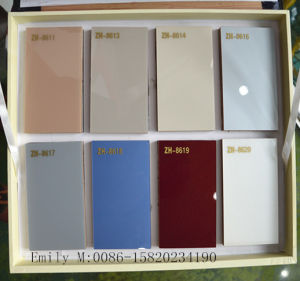 Solid Color Pure Acrylic Sheet for Kitchen Cabinet Door (ZH-8614) pictures & photos