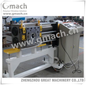 Automatic Self Cleaning Backflush Screen Changer for Pet Recycling Granule Extruding Machine pictures & photos