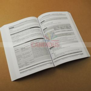 Low Cost Students Book Thick Black and White Book Printing pictures & photos