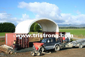8m Wide Container Shelter, Canopy, Container Tent, Container Cover (TSU-2620C/2640C) pictures & photos