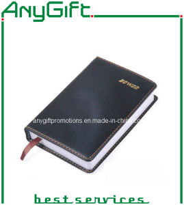 PU Cover Notebook with Customized Logo pictures & photos