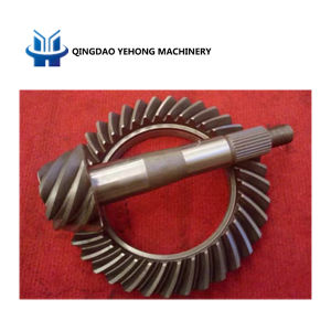 BS6055 8/37 Helical Bevel Gear Truck Drive Axle Differential Gear Spiral Bevel Gear pictures & photos