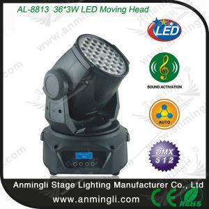 36*3W LED Moving Head Wash Light (AL-8813)