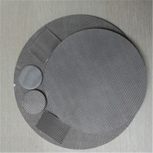 304, 316 Fine Mesh Stainless Steel Filter Discs pictures & photos