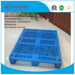 1200*1000*160mm HDPE Plastic Pallet Stacking Static 1t Plastic Pallet for Warehouse Storage pictures & photos