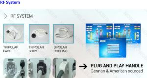 Multifunctional E-Light+RF+ND: YAG Laser Tattoo Removal Machine pictures & photos