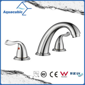 Sanitary Ware 3 Hole Bathroom Basin Faucet (AF1732-6C) pictures & photos