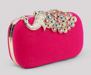 Women Designer Fashionable Peacock Lady Evening Hand Clutches Bag (XW006) pictures & photos