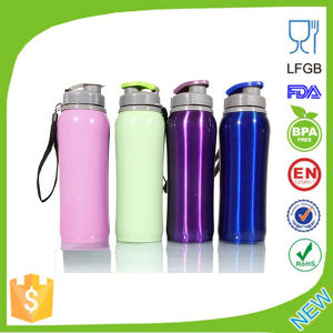 Outdoor Portable Aluminum Sport Water Bottle Dn-210 pictures & photos