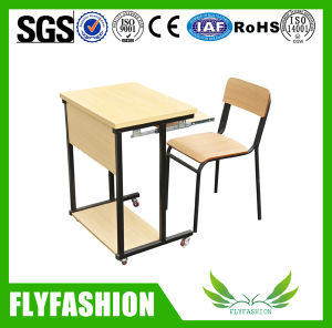 Fashion Single Wooden Desk with Chair (SF-92S) pictures & photos