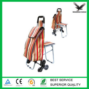 Promotion Shopping Cart with Three Wheel pictures & photos