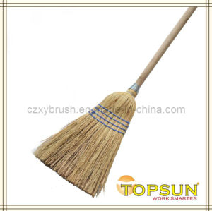 Broom Millet 7 Tie C/W Handle (HAND MADE)