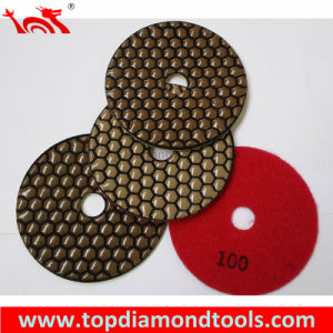 Angle Grinder Dry Diamond Granite Polishing Pad pictures & photos