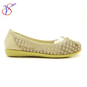 Three Color Soft Comfortable Flax Lady Women Shoes Sv-FT 005 pictures & photos