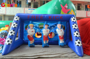 Inflatable Football Penalty Sport Games/Inflatable Football Game Chsp229 pictures & photos