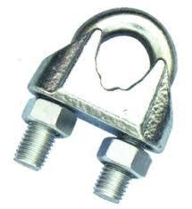 Galvanized Steel DIN741 Wire Rope Clip pictures & photos