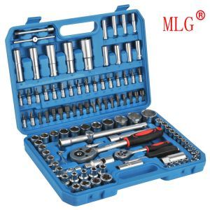 Precise Maintenance Tool Set 108PCS Drive Socket Wrench Set Packed in Plastic Box (MLG-2015)