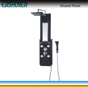 Aluminum Thermostatic Waterfall Shower Panel (LN-A37) pictures & photos