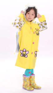 Bee Long Children Rain Coats