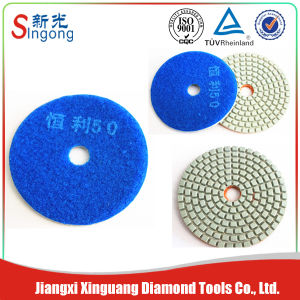 Diamond Floor Dry Polishing Pads pictures & photos