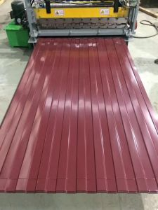 Building Material Corrugated Pre-Painted Galvanized Steel Sheet Sgch pictures & photos