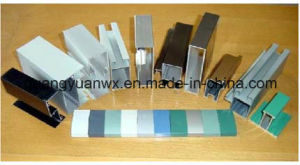 Powder Coated Aluminum Tubes Profile 6m Length pictures & photos