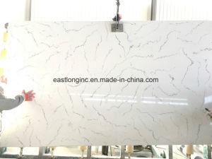 Hot Sale Marble Color Artificial Quartz Stone Slab for Countertop pictures & photos