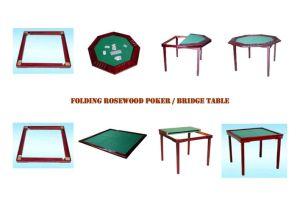 Folding Rosewood Poker / Bridge Table