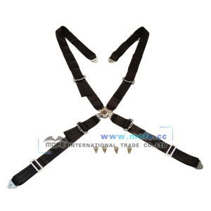 Bride 4 Point Racing Seat Belt Black (MSB-9)