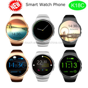 Smat Bluetooth 4.0 Compatible Android OS and Ios Big Face Watches (K18C) pictures & photos