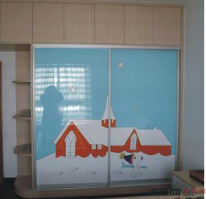 Wardrobe with Bifold Door or Closet with Sliding Door