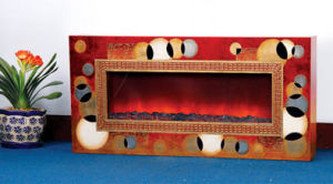 CE Approved European Electric Fireplace (BG-100A) pictures & photos