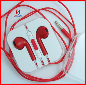 Hot -Sell Earphone for iPhone Earpod Headset with Mic and Remote pictures & photos