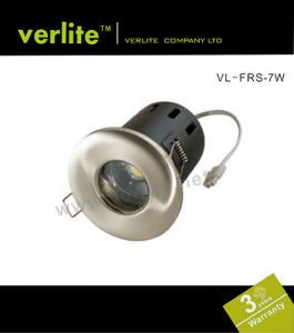 7W LED Downlight Fire Rated Shower with CE RoHS