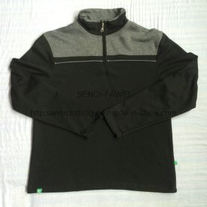 Men′s Sport Clothes with Stand Collar in Audlt Sport Wear Fw-8612 pictures & photos