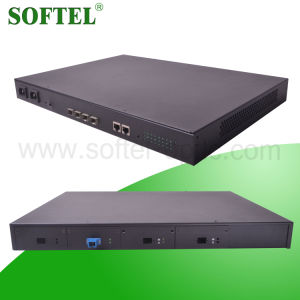 2014 Hot FTTX Solution Gepon Olt with 4 Pon Port 802.1q Vlan for FTTH Solution, 1.25gbps Optical Line Terminal Olt pictures & photos