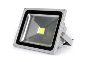 50W Slim Squared SMD Flood Light with 80lm/W IP65 pictures & photos