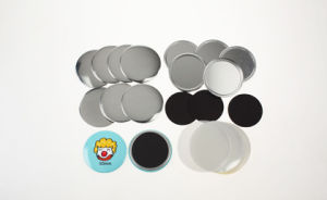 Diameter 50mm Rubber Magnet Button pictures & photos