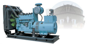 550kw Cummins Biomas Gas Generator Set (550GF-SJ)