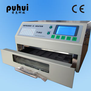 Puhui Infrared IC Heater T-962A, BGA Reflow Oven, PCB Soldering Machine pictures & photos
