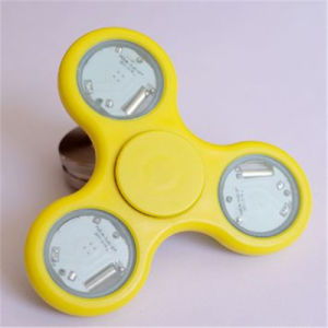 Double Sides LED Lights Plastic Fidget Hand Finger Tri-Spinners pictures & photos