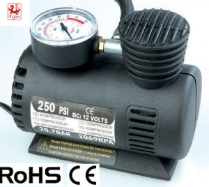 Car Use Electric Plastic Mini Air Compressor Pump (TM10A)