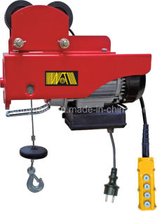 Mini Electric Hoist with Moving Trolley (WT-200/400D) pictures & photos