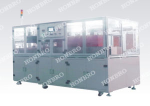 Automatic Sleeve Labeling Machine of Cylinder Core (HBTG)