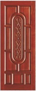 Top Quality Steel Wooden Door (pH-6612) pictures & photos