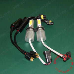H4 60W COB LED Headlamp 1700-2000lm High Power Car LED